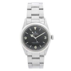 Vintage Rolex Explorer I Men's Steel Watch Ref. 1016