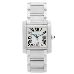 Cartier Tank Francaise Automatic Stainless Steel Watch W51002Q3