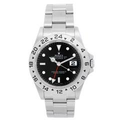 Rolex Explorer II Stainless Steel Men's Sport Watch 16570