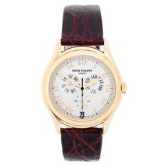 Patek Philippe Annular Calendar 18 Karat Gold Men's Watch 5035 J 'or 5035j'
