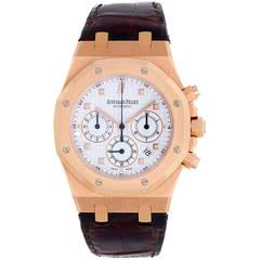 Audemars Piguet Rose Gold Royal Oak Chronograph Wristwatch