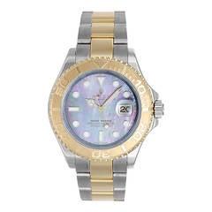 Rolex Yellow Gold Stainless Steel Yacht-Master Wristwatch Ref 16623