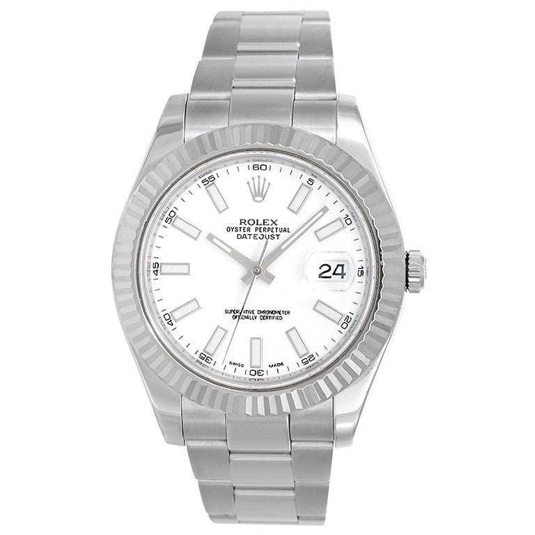 Rolex Stainless Steel Datejust II Wristwatch Ref 116334