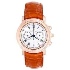 Girard-Perregaux Rose Gold Chronograph Wristwatch