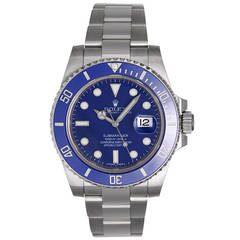 Rolex Submariner White Gold Men's Watch 116619-LB