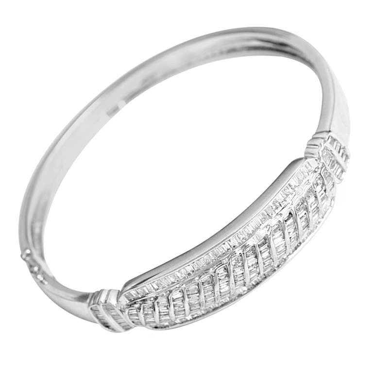 jewelry silver bracelet back to bangle bangles gold in white product diamond donna category co