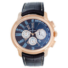 Audemars Piguet Rose Gold Millenary Chronograph Automatic Wristwatch