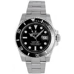 Rolex Stainless Steel Submariner Wristwatch Ref 116610