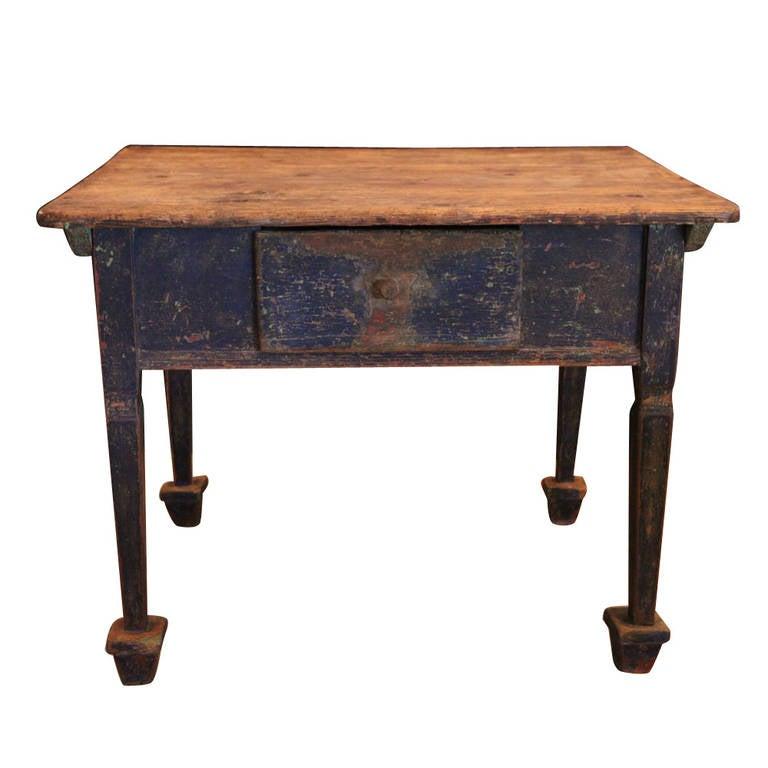 baroque entry table sweden 17th century at 1stdibs. Black Bedroom Furniture Sets. Home Design Ideas