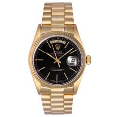Rolex Yellow Gold Day-Date President Wristwatch