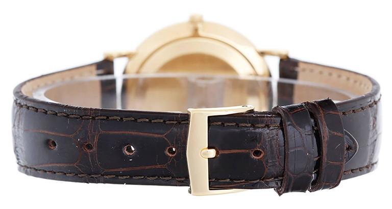 Patek Philippe Yellow Gold Calatrava Wristwatch Ref 3919 2