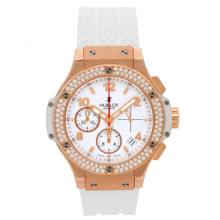 Hublot Rose Gold Big Bang Portocervo Automatic Wristwatch