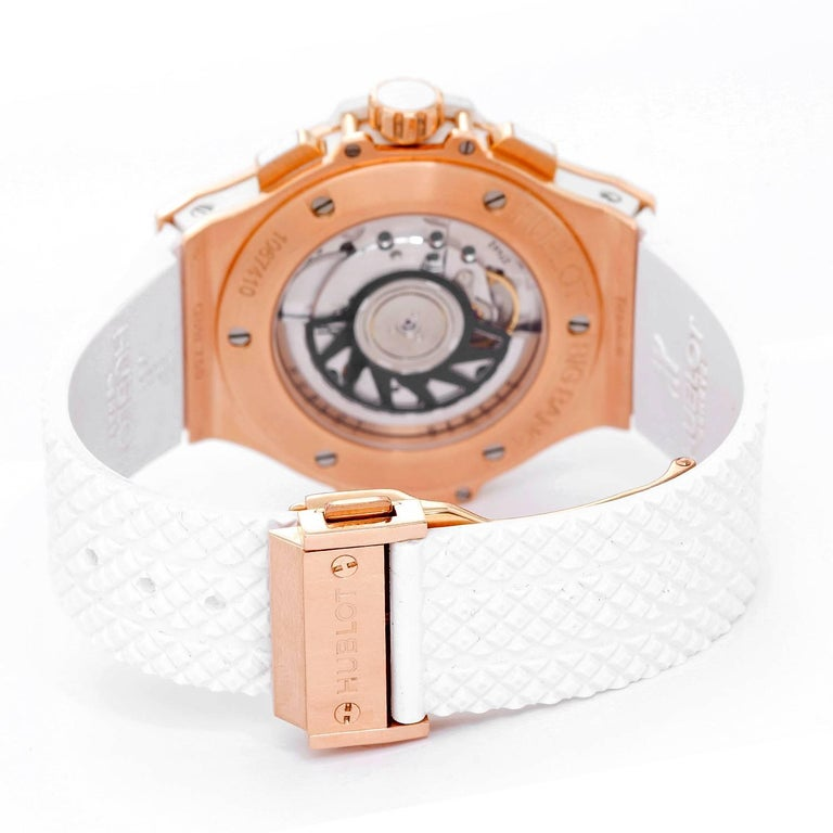 Hublot Rose Gold Big Bang Portocervo Automatic Wristwatch In Excellent Condition In Dallas, TX