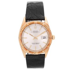 Rolex Yellow Gold Thunderbird Turnograph Automatic Wristwatch Ref 1625