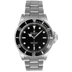 Rolex Stainless Steel Submariner Automatic Wristwatch Ref 4060
