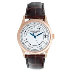Patek Philippe Rose Gold Calatrava Automatic Wristwatch