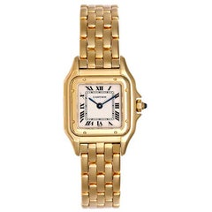 Cartier Ladies Yellow Gold Panthere Quartz Wristwatch Ref W25022B9