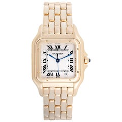 Cartier Ladies Yellow Gold Panther Midsize Quartz Wristwatch