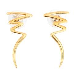 Tiffany & Co. Paloma Picasso Yellow Gold Zig-Zag Earrings, circa 1983