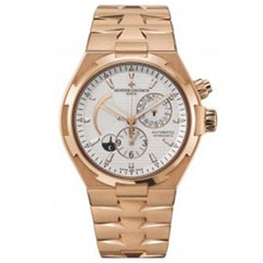 Vacheron Constantin Rose Gold Overseas Automatic Wristwatch