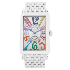 Franck Muller Stainless Steel Color of Dreams Automatic Wristwatch Ref 952QZ