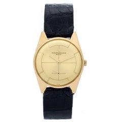 Vacheron Constantin Yellow Gold Vintage Manual Wristwatch