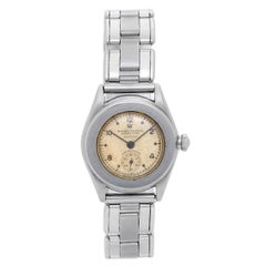 Rolex Stainless Steel Midsize Oyster Perpetual Automatic Wristwatch, Circa 1940s