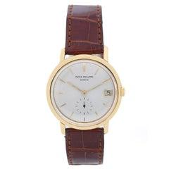 Patek Philippe Yellow Gold Vintage Manual Wristwatch Ref 3445, circa 1963