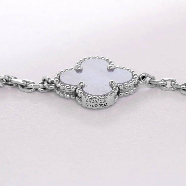 Women's Van Cleef & Arpels Vintage Alhambra Ten Motifs For Sale