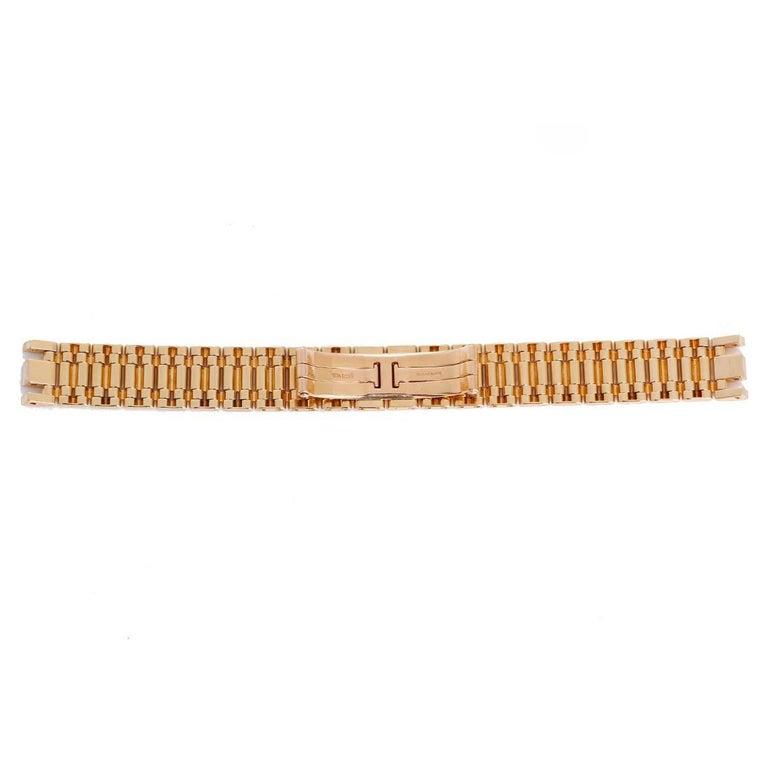 Cartier 18K Yellow Gold Bracelet - . 18K Yellow Gold Cartier link bracelet (13mm) with Cartier deployant clasp. Fits Tank Americaine