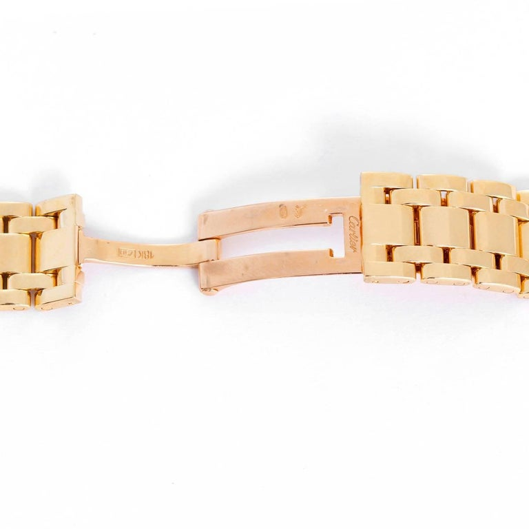 Cartier 18 Karat Yellow Gold Bracelet In Excellent Condition For Sale In Dallas, TX