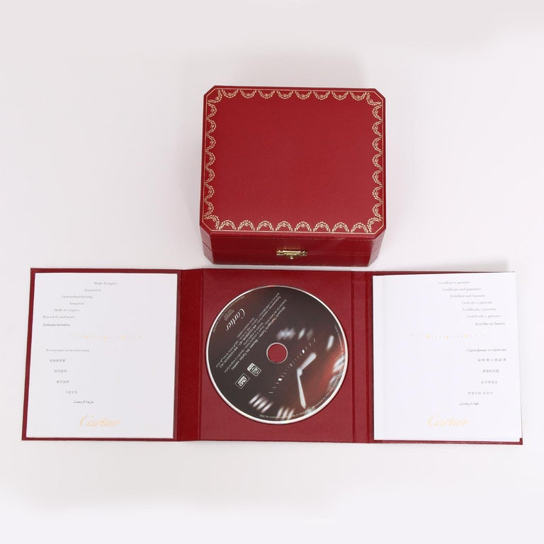 Cartier Stainless Steel Automatic Wristwatch Ref W7100015 For Sale 2