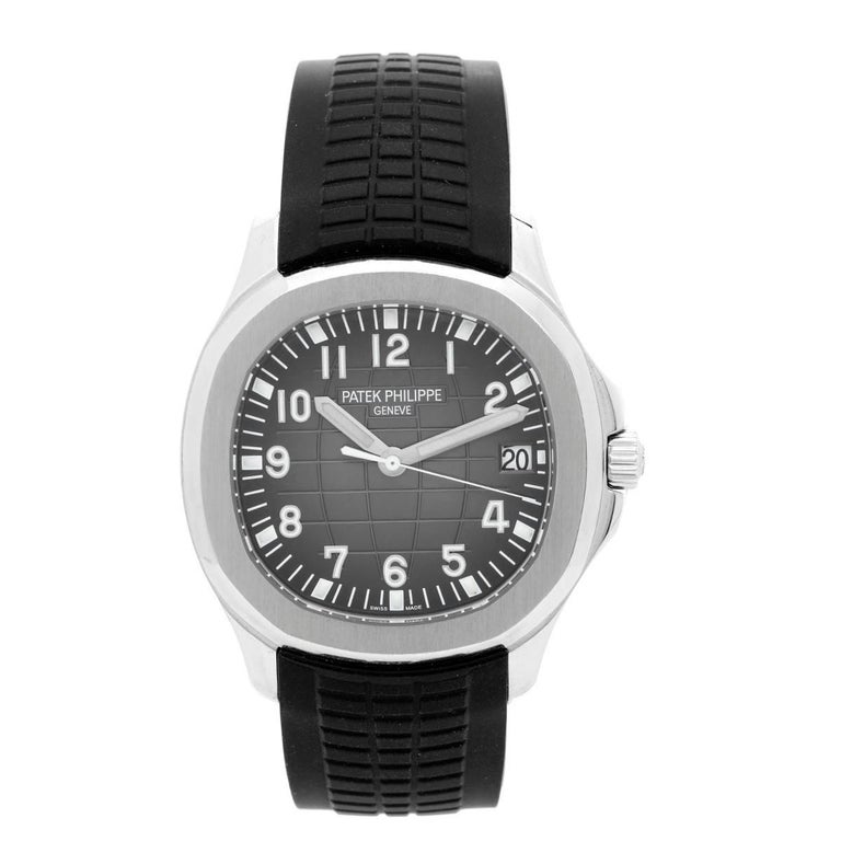 Patek Philippe Stainless Steel Aquanaut Automatic Wristwatch Ref 5167A-001 For Sale