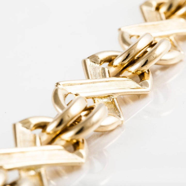 Tiffany & Co. Schlumberger Bracelet In Excellent Condition For Sale In Houston, TX