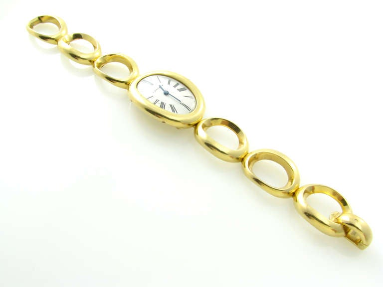 cartier gold bracelet at 1stdibs