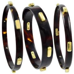 Cartier Aldo Cipullo Set of Gold Bangles