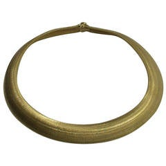 Roberto Coin Gold Choker Necklace