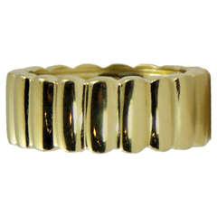 Gold Tiffany Lozenge Band