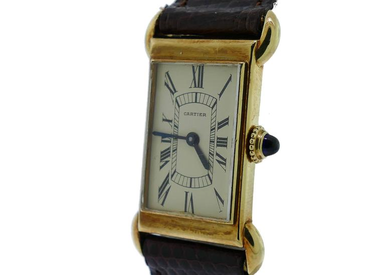 Cartier Rose Gold Tank Anglaise Cartier W5310002 Tank