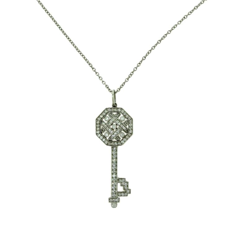 and co small key pendant