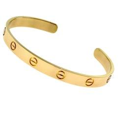Cartier 18 Karat Rose Gold Love Cuff Bracelet