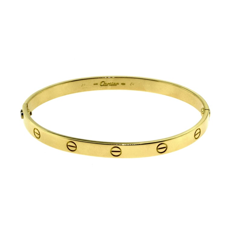 Cartier Love Bracelet in 18 Karat Yellow Gold 3
