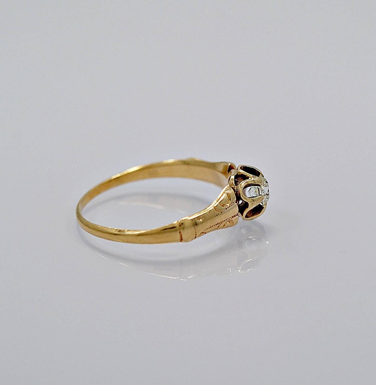 antique 20 carat gold engagement ring at 1stdibs