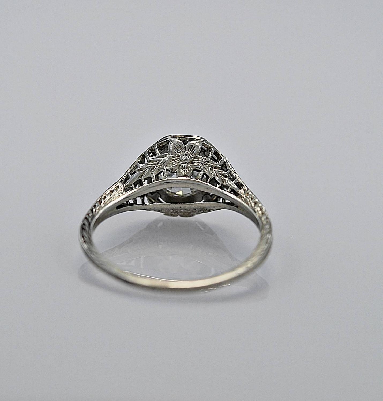 deco 96 carat gold engagement ring at 1stdibs