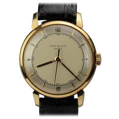 Patek Philippe Yellow Gold Wristwatch Ref 2482 circa 1950s