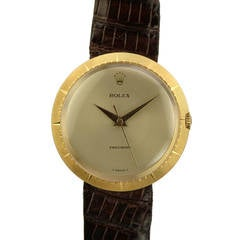 Rolex Yellow Gold Zephyr Wristwatch