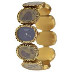 Patek Philippe Lady's Yellow Gold Golden Ellipse Wristwatch Ref 4119/1