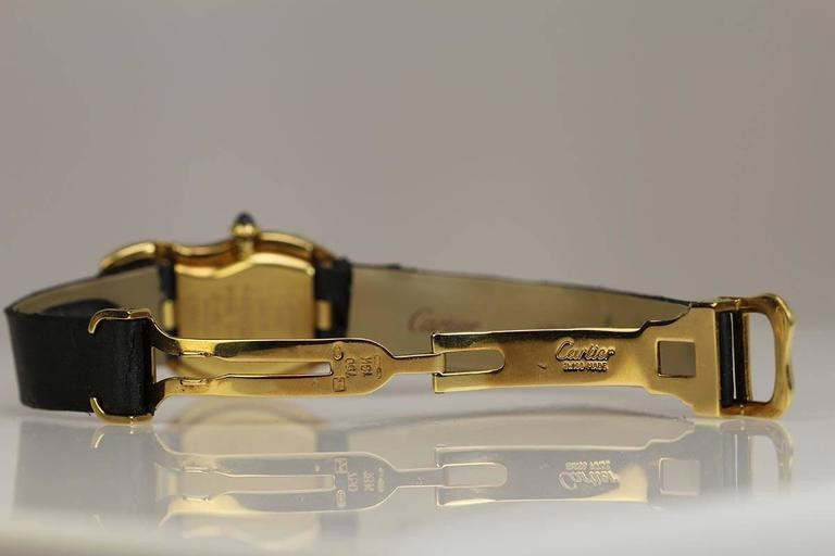 Cartier Yellow Gold Limited Edition Crash Wristwatch  In Excellent Condition For Sale In Miami Beach, FL