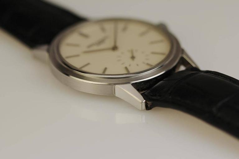 Patek Philippe Stainless Steel Calatrava Japanese Special Ed Wristwatch Ref 3718 2
