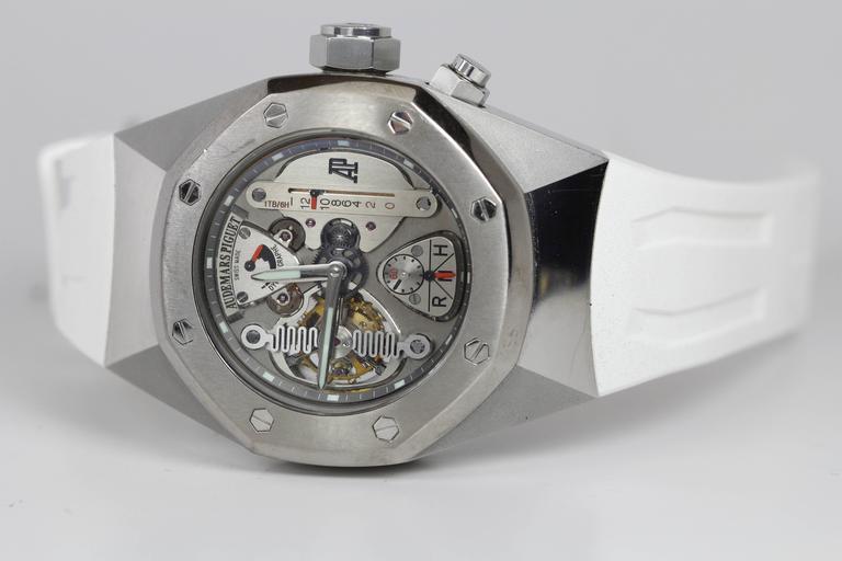 Audemars Piguet Royal Oak Concept CW1 Automatic Wristwatch For Sale 5